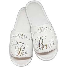 vendita calda autentica prestazione affidabile super speciali Amazon.it: pantofole sposa bianche