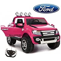 Duplay Ford Ranger Pick-Up 4x4 Licensed 12v Electric Ride On Car / Jeep with Upgraded Twin Motor, MP3 Plug-In and Parental Remote Control (6 Colours Available)
