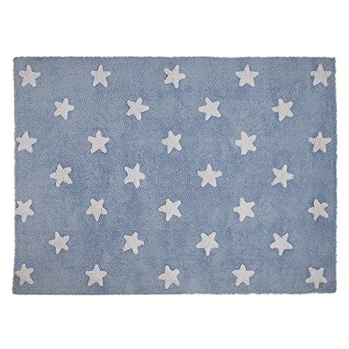 Lorena Canals C-A-SW blau Sterne, weiß