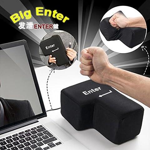 sunnymi Kissen Big Enter Key Multifunktion Pillow USB Anti-Stress Relief Super Größe Enter Key Unzerbrechlich Nehmen Sie Ein Nickerchen 140x200m