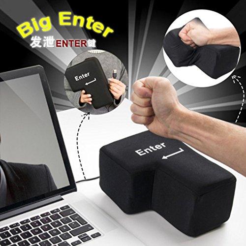 nter Key Multifunktion Pillow USB Anti-Stress Relief Super Größe Enter Key Unzerbrechlich Nehmen Sie Ein Nickerchen 140x200m ()