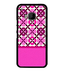 Fuson Rangoli Pattern Designer Back Case Cover for HTC One M9 :: HTC One M9S :: HTC M9 (Ethnic Pattern Patterns Floral Decorative Abstact Love Lovely Beauty)
