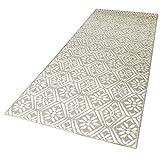 DomDeco In- und Outdoor-Teppich Caro Classic 200 x 80 cm Kunststoff für Innen und Außen