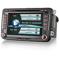 Erisin ES7900V 17,8cm Car stereo Multimedia autoradio con OBD sedile per VW Golf Passat CC Tiguan Sharan Jetta Caddy polo EOS