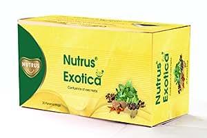 Nutrus Exotica Tea - 20 Pyramid Tea Bags (Pack Of 3)