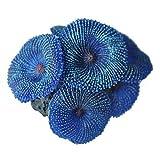 TOOGOO(R) Aquarium Pflanze kuenstlich Koralle blau