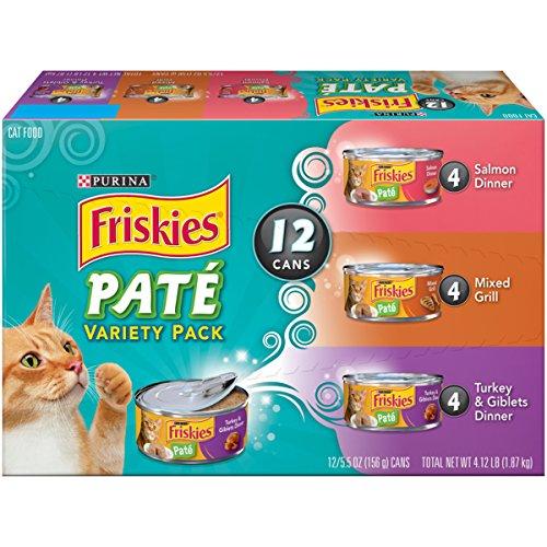 Purina Friskies Classic Pate Variety Pack Cat Food - (24) 9.4 lb. Box