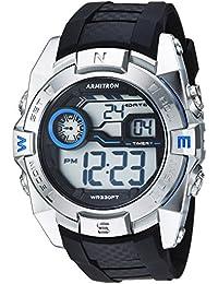 Armitron Sport hombres de cuarzo resina Reloj de fitness, color: negro (modelo: 40…