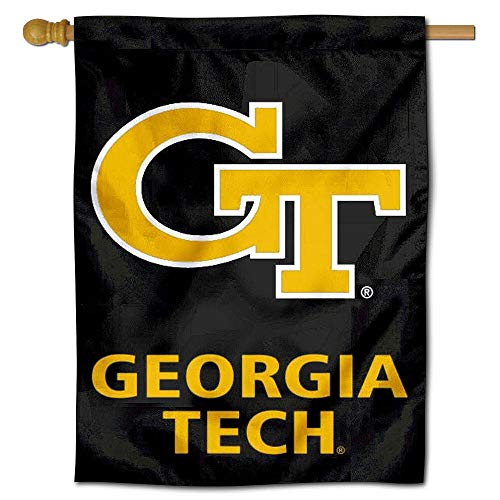 Georgia Tech House Flag (College Flags and Banners Co. Georgien Tech Doppelseitig House Flagge)