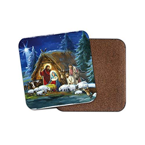 it Krippenmotiv, religiös, festlich, tolles Weihnachtsgeschenk, 1 Stück ()