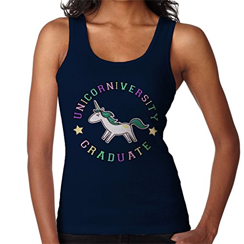 Unicorn University Graduate Varsity Women's Vest Navy blue