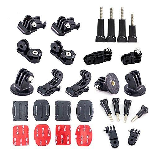 4K Action Sport Kamera Adhesive Mount Adapter Arm Kette Stativschraube Zubehör Kit für Gopro Hero 6 5 4 Sitzung SJCAM Yi