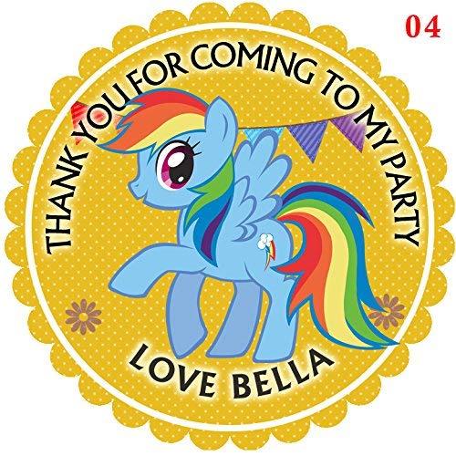 design buddies Aufkleber My Little Pony Rainbow Dash, 50 mm, 5 cm (A Pony Dash Rainbow Design)