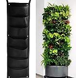 UniEco Pflanzsack mit Henkeln Vliesstoff Pflanztasche zum Bepflanzen Pflanzgefäß Pflanzbehälter Pflanzbeutel Grow Bag Breite 29.97 x Länge 100cm für 1 Beutel, Gemüsebehälter, Pflanzsack für Garten