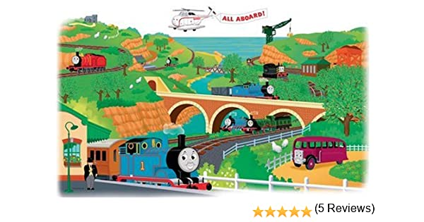 Roommates Rmk1081Gm Thomas And Friends Peel U0026 Stick Giant Wall Decal:  Amazon.co.uk: DIY U0026 Tools