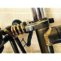 Ace Brompton Suspensión Extrafirmes Titanio Muelle de Presión Suspensión Golden