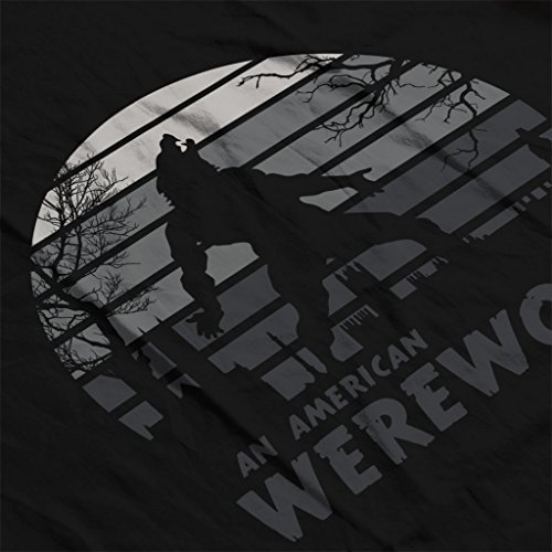 An American Werewolf in London Sunset Women's Sweatshirt Black