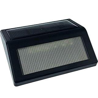 Solar Lights,AmaMary Waterproof 6 LED Solar Power PIR Motion Sensor Wall Light Outdoor Garden Lamp (white)