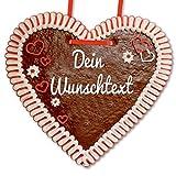 50cm Lebkuchenherz individuell mit Text nach Wunsch | personalisiertes XXL Lebkuchenherz online konfigurieren | persönliches Geschenk | XL - Liebesbeweis | LEBKUCHEN WELT
