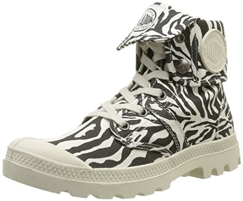 Palladium Baggy Animals, Boots femme - Noir (Zebra), 38 EU