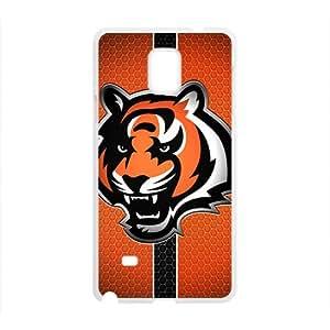 Custom Samsung Galaxy Note 4NFL Sports Logos Case Cincinnati Bengals Logo Design Protective Bumper Cover
