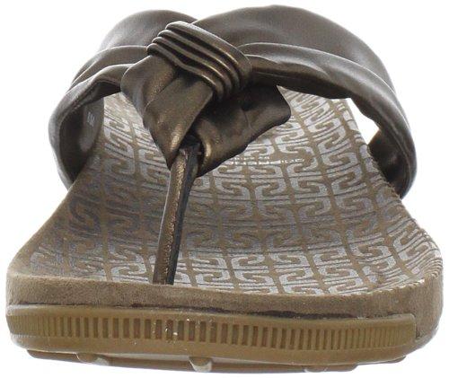 Rockport Jada Tubular Thong Damen Sandalen Bronze