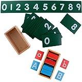 Baoblaze Juguete de Aprendizaje de Letra de Montessori Accesorio Adecuado para Niños de Bricolaje