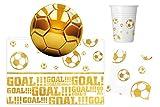 Procos 10118539Ensemble de fête football or