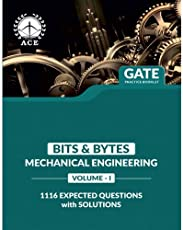 GATE 2019 MECH Practice Booklet 1116 Expected Questions with Solutions for Mechanical Engineering Volume 1