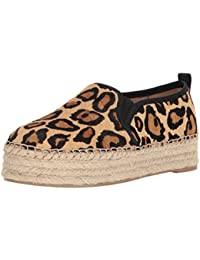 espadriles.com Mädchen Espadrilles, Mehrfarbig - Leopard - Größe: 24