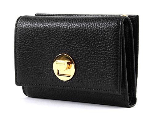 Coccinelle Liya Small Flap Wallet Noir