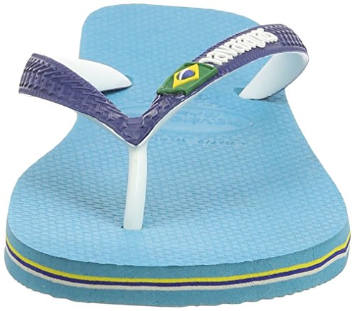 Havaianas Brasil Mix 4123206, Infradito Unisex – Adulto Multicolore (Blue 0031)