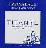Hannabach 950 Serie Titanyl - Cuerda de guitarra (tensión media)