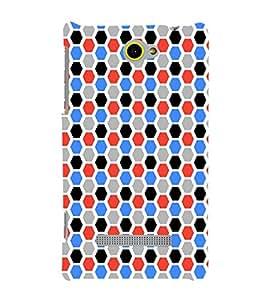 EPICCASE octagon Mobile Back Case Cover For HTC Windows Phone 8S (Designer Case)