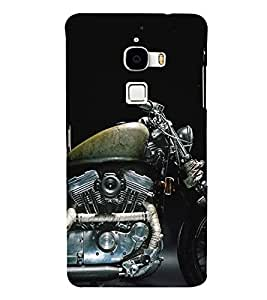 Fiobs Designer Back Case Cover for LeTv Le Max :: LeEco Le Max (Bike Motorcycle Cool Vehicle Swag Boy )