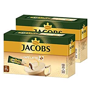 jacobs 3in1 l slicher kaffee typ caf latte instantkaffee 20 becherportionen. Black Bedroom Furniture Sets. Home Design Ideas