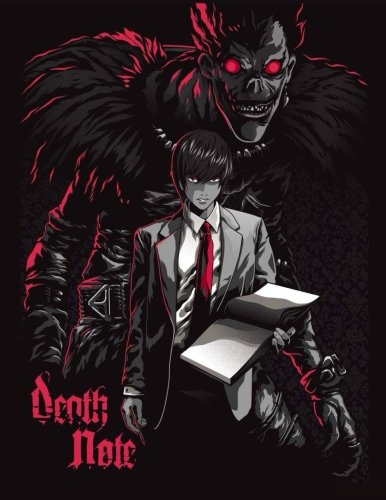 Death note: best anime coloring book, activity book