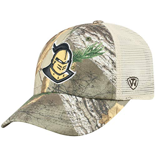 Top of the World NCAA Central Florida Golden Knights Men's Camo Stock Adjustable Mesh Icon Hat, Real Tree Central Florida Ucf Golden Knights