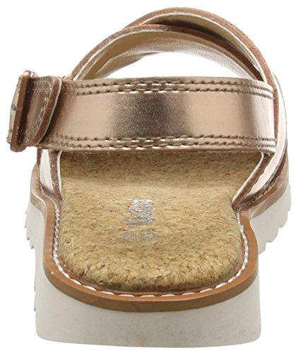 Kickers Damen Kick Lite Weave Sb Lthr Af Metallic Sandalen Gold (Metallic)