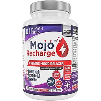 MOJOTM Recharge - 5 HTP Sleeping Pills Nootropic Serotonin