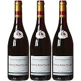 PASQUIER DESVIGNES Vin Rouge Côtes du Rhône Villages AOP 2015 75 cl - Lot de 3