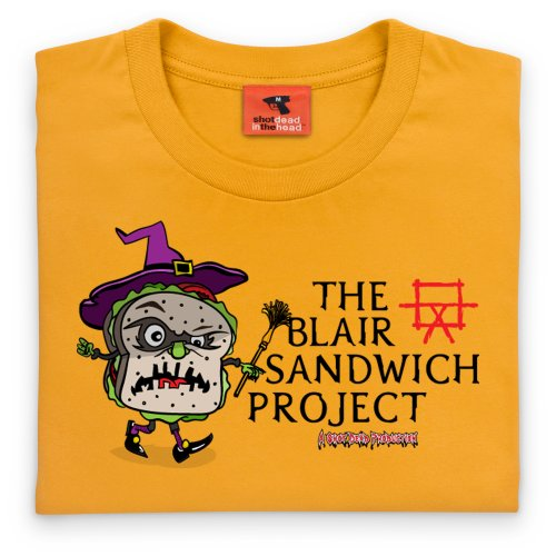 The Blair Sandwich Project T-Shirt, Herren Gelb