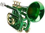 Roy Benson PT-101E  Trompette de poche Sib Vert