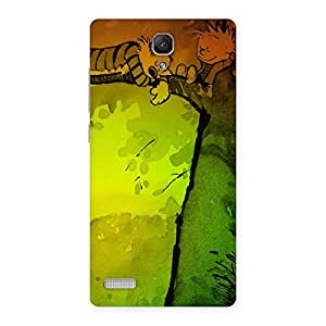 Sleeping On Tree Back Case Cover for Redmi Note