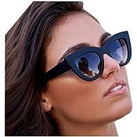 Gafas de Sol Unisex Adulto gafas de sol hombre polarizadas Aviador gafas de sol vintage de ojo de gato retro verano viaje Gafas de ciclismo para Deportes acuáticos Aire libre