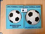 Aral-Fußball-Album. Weltmeisterschaft 1966.,Aral-Bilderalbum Nr. 1.