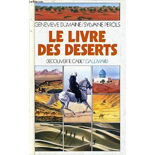 Le livre des deserts