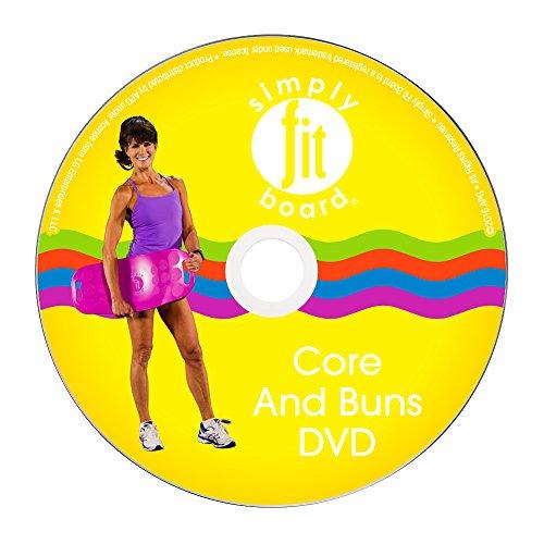 Einfach Fit Board–Core & Brötchen Workout Kit, 6Workouts, DASS sind ideal für Sie 6Pack ABS & straffere Gebäck