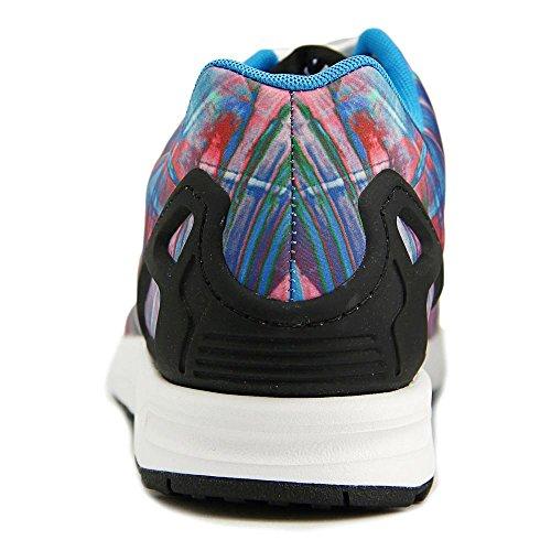 Adidas ZX Flux Synthétique Baskets Brblue-Cblack-Ftwwht