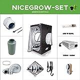 Growset Dark Box 145 EVSG 600W NDL Duallampe 600W Komplettset Diamond Reflektor